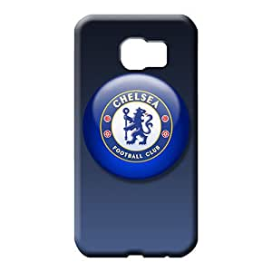 samsung galaxy s6 edge Slim Fashion Back Covers Snap On Cases For phone phone carrying cover skin chelsea fc