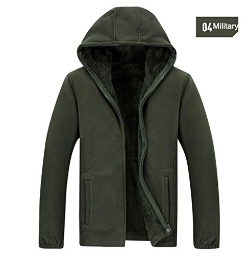 - VADOLY Winter Military Tactical Jackets Men Warm Thermal Breathable Hooded Jackets Coat Outerwear
