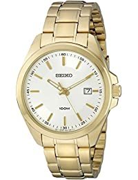 Seiko Men's SUR064 Antique Gold Stainless-Steel Quartz Watch
