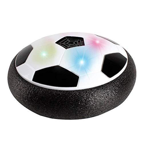 サッカー 室内 サッカーボール エアーサッカー サスペンドサッカー LEDライト搭載 15/18cm 浮力 電池式 練習用具 夜間運動 おもちゃ親子ゲーム 親子関係を改善 知育おもちゃ 子供 ギフト おもちゃ 誕生日プレゼント (色はランダム、バッテリーを含まない) 2サイズ