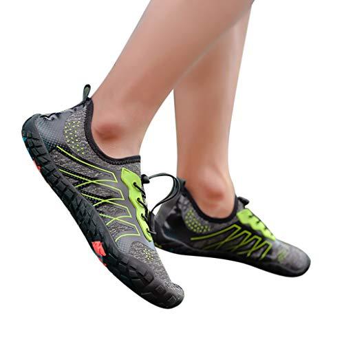 D'eau Sport Séchage Hommes Gris Confortable Chaussons Aquatique Chaussures Plage Piscine Femme Et Mcys Pour Rapide RtxYIFqdw