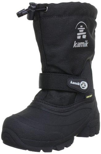 Kamik Waterbug5G - Botas de nieve, talla: 38, color: Morado Negro