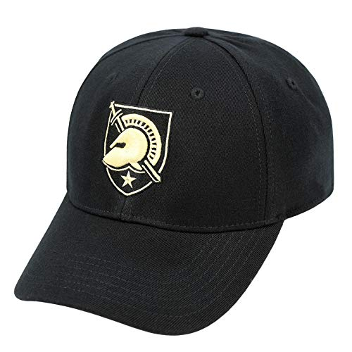 Top of the World Men's Army West Point Black Knights Army Black Premium Collection M-Fit Hat - LXL