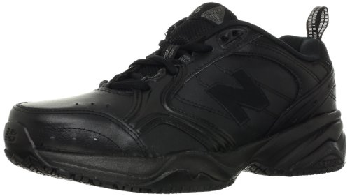 New Balance Men's MX626 Slip Resistant Cross-training Shoe,Black,8 2E US