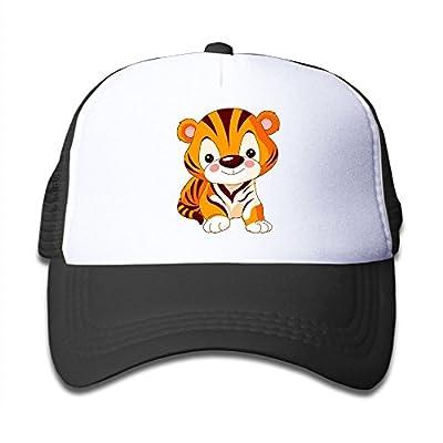 Wiongh Opp Mesh Baseball Caps Snapback Hat Cute Little Tiger Boys-Girl Adjustable