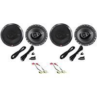 1993-95 Jeep Grand Cherokee Rockford Fosgate Front+Rear Speaker Replacement Kit