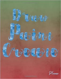 Draw Paint Create Undated Art Teacher Academic Calendar