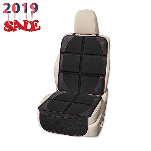 Car Seat Protector, Whew Waterproof Padding Protector for Baby Car Seat, Non-Slip Backing Pet Dog Seat Cover Mat - 1 Pack
