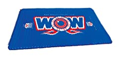 WOW World of Watersports 12-2030, Inflatable Floating Water Walkway, 10 x 6 Feet, 1 to 6 People. Another great design from WOW World of Watersports! Who knew something this simple could be so much fun?6 feet x 10 feet rectangular mat made fro...