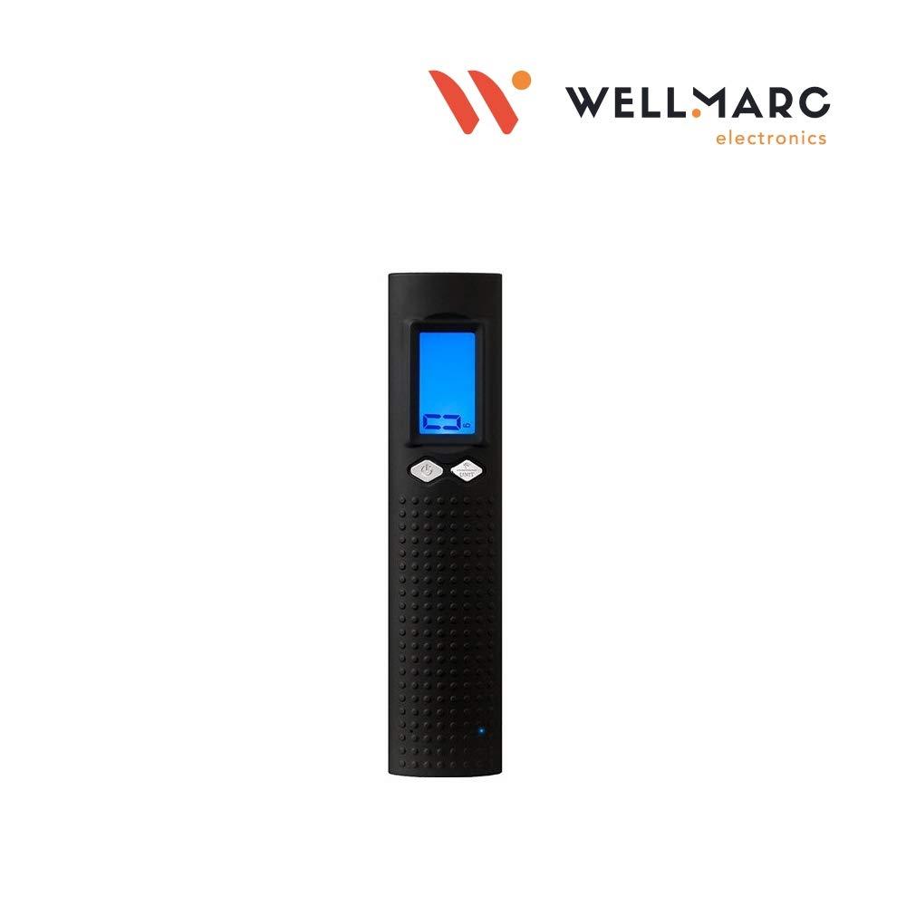 Power Bank 2600 mAh USB LED Flashlight Black LCD LED Display Digital Travel Scale//Scales Ranges 50 Kg-10 Gr Measurement Units Kg//Lb//Oz//Gr