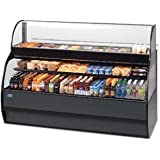 Federal Industries SSRSP5952 Specialty Display Sandwich or Salad Prep Merchandiser With Refrigerated Self-Serve Bottom