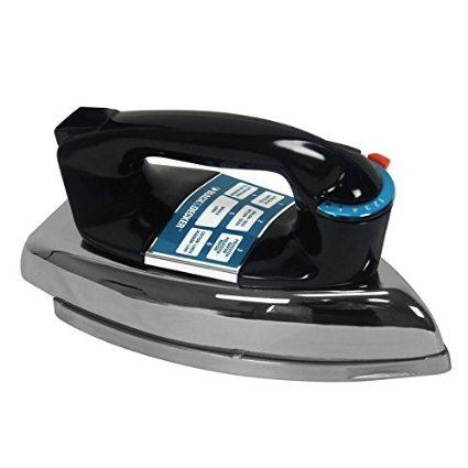 NEW!! Black & Decker Heavyweight Classic Iron Dry Clothing Flat Iron model F5, Strong and Sturdy, Designed to last you a lifetime.