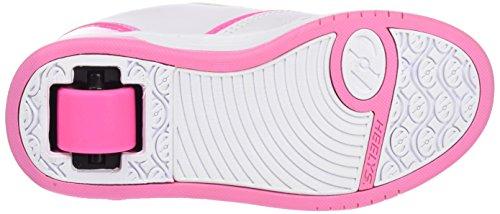 Heelys Unisex Propel 2.0 770605 Lauflernschuhe Sneakers Elfenbein (White / Hot Pink / Light Pink)