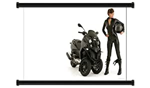 "Amazon.com: Gilera Fuoco Motorcycle Fabric Wall Scroll Poster (32"" X"
