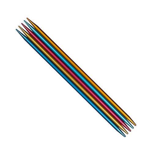 Needles Pointed Addi Double (addi Colibri (FlipStix) Double-pointed Needles Full Set of All 15 Sizes (US0 - US11), all in all 75 Needles (6 Inch))