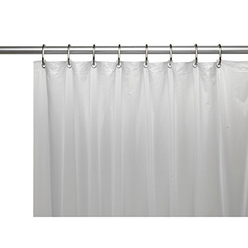 Extra Heavy Clear Shower Curtain: Amazon.com