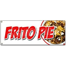FRITO PIE BANNER SIGN chili cheese corn chips texas style tamale fresh
