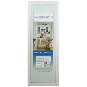 Cardinal Pet Gates 10.5-Inch Extension, White Click on image for further info.