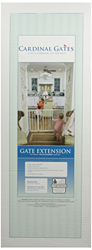 Cardinal Pet Gates 10.5-Inch Extension, White