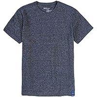 T-Shirt Básica Mescla Botone Infantil Masculino Grafite