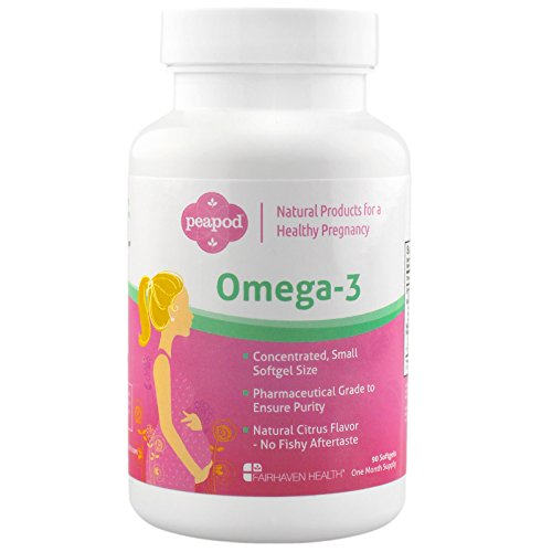 PeaPod Omega 3: Premium Icelandic Fish Oil for a Healthy Pregnancy