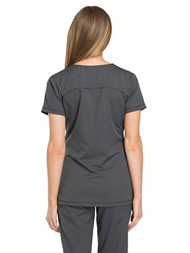Dickies A V Con Scollo By Medical Dk720 Top nbsp;arrotondato Dynamix Donna Pewter UqAwrZU