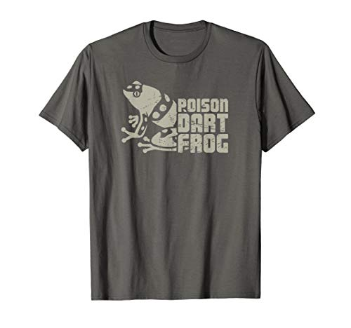 (Distressed Pet Poison Dart Frog T-Shirt / Poison Arrow)