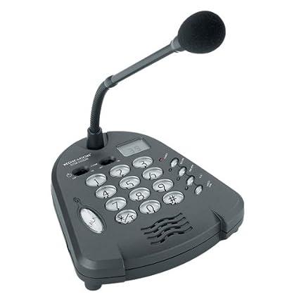 Monacor 5 m PA microfono da tavolo a collo doca