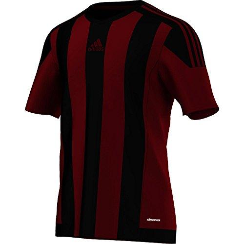 Rouge Uomo Adidas A Puissant noir Righe Da Maglia Calcio 15 qRwvH40