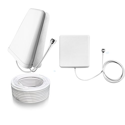 Sanqino 2G/3G/4G Cell Phone Signal Booster 850MHz/1700MHz Dual Band Signal Repeater For Home and Office-Ehance Your Signal and Gain 65dB . Can Cover up to 1076 sq ft. For Multiple Devices and Users by Sanqino (Image #4)