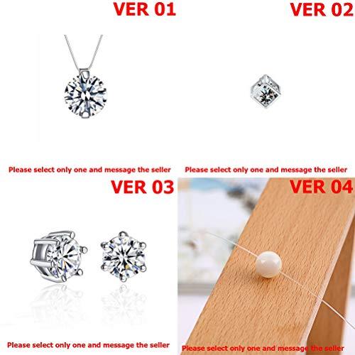 DiamondJewelryNY Sterling Silver Rhodium Plated Cz Pendant