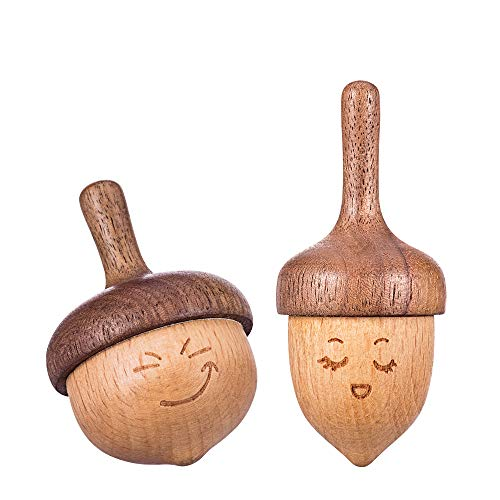 wooden toy tops - 6