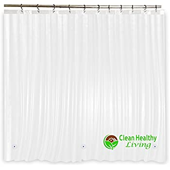 Captivating Heavy Duty PEVA Shower Liner: Odorless U0026 Anti Mold (with Magnets). Itu0027s