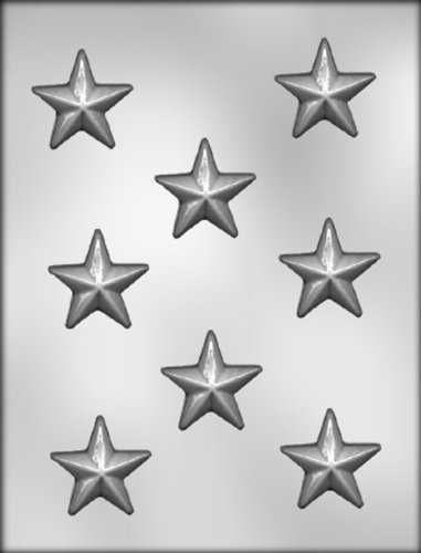 CK Products 1-3/4-Inch Star Chocolate Mold (Chocolate Mold Star)