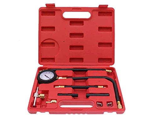 Benzindruckprü fer Einspritzanlage Ö ldruckmesser Ö lprü fer Benzindruck Tester 9 tlg. Hafix
