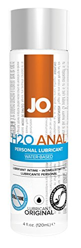 System Jo Anal H2O Lubricant, 4-Ounce Bottle, Best Gay Men's Sex Toys