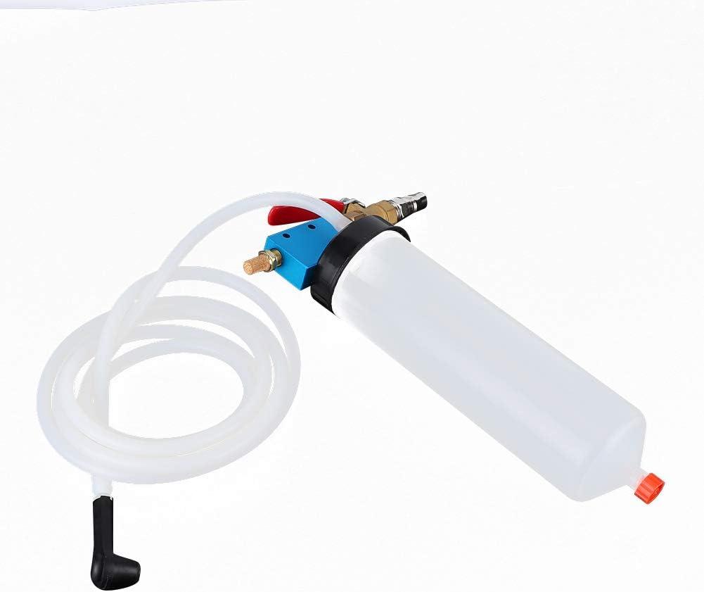 purgador de l/íquido de frenos automotriz Kit de drenaje de cambio de aceite de embrague hidr/áulico neum/ático Herramienta manual. Purgador de l/íquido de frenos