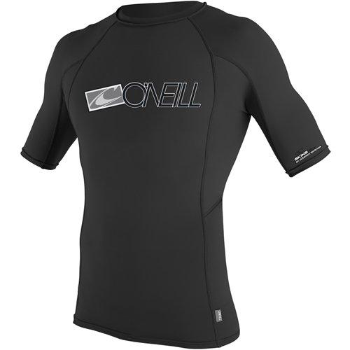 O'Neill Wetsuits UV Sun Protection Mens Skins Short Sleeve Crew Sun Shirt Rash Guard