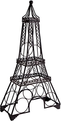 Tower Wine Rack - Home Essentials & Beyond Home Essentials Wine Rack Eiffel Tower black, , Clear