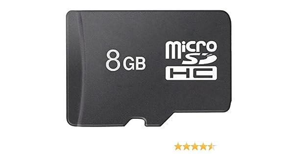 aidodo tarjeta micro SDHC, tarjeta SD 8 GB, tarjeta de memoria Micro SD, Tarjeta de memoria 8 GB, tarjeta de memoria SD hasta 80 MB/s, Micro SD TF ...