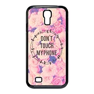 kimcase Custom Don't touch my phone Phone Case for Samsung Galaxy S4 I9500