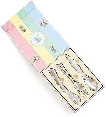Cubiertos para niños 3 piezas Personalizado Acero inoxidable Set ...