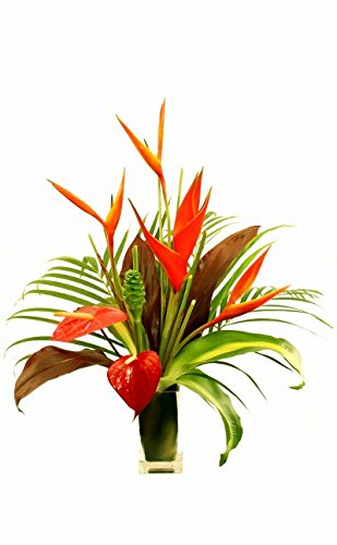 Medium Hawaiian Tropical Flower Arrangement by Hana Tropicals