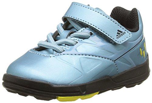 Adidas Baby-Jungen, Sneaker, messi el i blau (Matt Ice Met.F12/Matt Ice Met.F12/Solar Yellow)