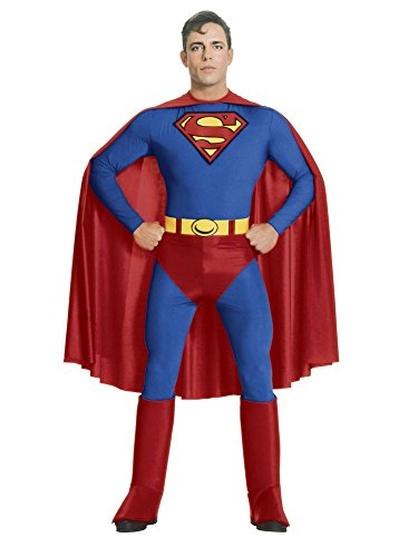 (Rubie's Men's Adult Superman Costume, As As Shown, Medium)
