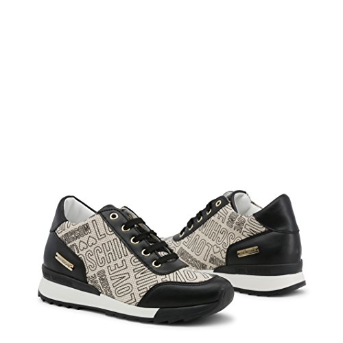 Multicolore Mode Logo Baskets Runner Print Love Moschino Femme OxUZZn