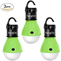 LED Camping Lantern, FengChi[3 PACK] Portable Outdoor...