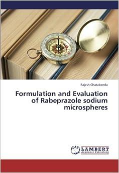 Book Formulation and Evaluation of Rabeprazole sodium microspheres