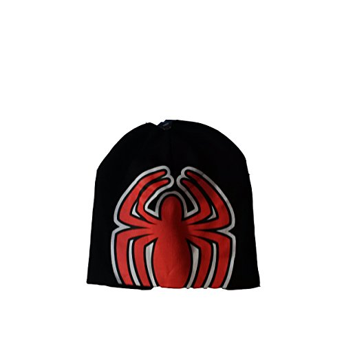 Disney Marvel Spiderman Symbol Logo Spider Hat Beanie
