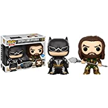 [Patrocinado] Funko POP Heroes: Batman y Aquaman–Dc de la liga de la justicia–Fye exclusivo (2unidades)